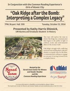 Oak Ridge 2014