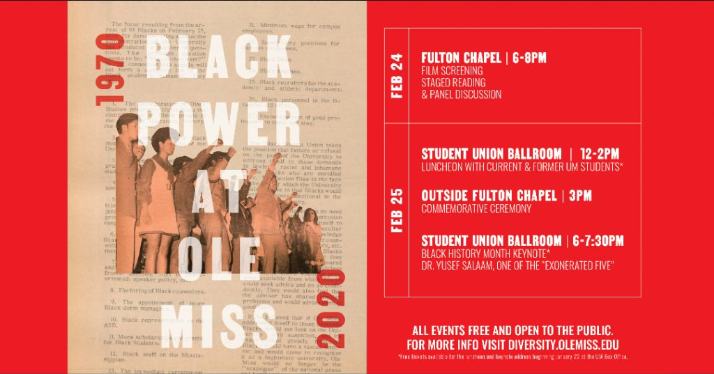 Black Power at Ole Miss