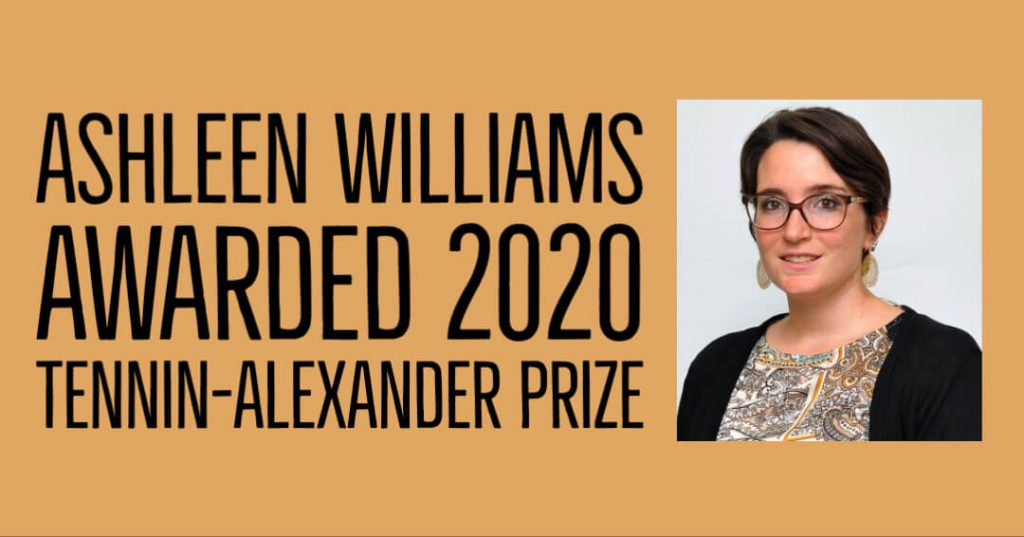 Williams wins Tennin-Alexander